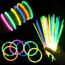 50 Glow Sticks UV Light Sticks Glow In The Dark Party Premium Bracelets
