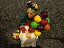 Royal Doulton H.N. 1315 The Old Balloon Seller- Lady with Balloons