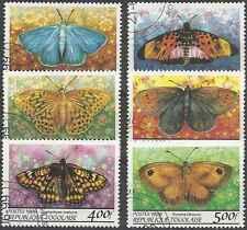 Timbres Papillons Togo 1688AU/AZ o lot 10809