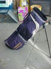 Excellent Taylor Made Durngo Stand Golf Bag 4 Way 6.5X35 Inches Hl 70
