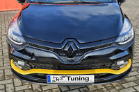 Sonderaktion Frontspoiler Spoilerschwert aus ABS für Renault Clio 4 RS mit ABE