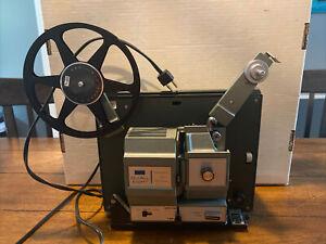 Vintage Sears Du-all 8mm/Super 8 Movie Projector Model 584.92530 - WORKING