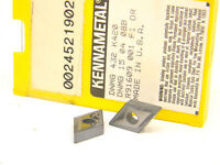 5 NEW SURPLUS KENNAMETAL DNMG 432 K420 CARBIDE INSERTS