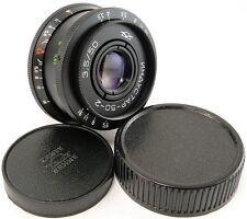 Virtually NEW! INDUSTAR 50-2 Russian Lens Fuji Fujifilm X Mount FX X-Pro 1 2 T1