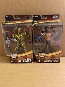 WWE Elite Legends Diamond Dallas Page DDP & Brutus Barber Beefcake Chase Figures