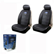 New FORD Mustang Synthetic Leather Car Truck 2 Front Seat Covers Set