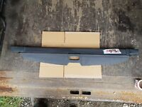VAUXHALL ZAFIRA B PARCEL SHELF LUGGAGE LOAD COVER IN GREY