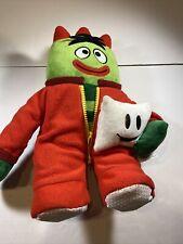"Yo Gabba Gabba 13"" Nighttime Glow Cuddly Brobee Sing & Glow PJ Plush 2013"