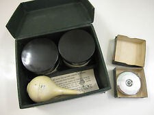 KE LEROY Pen Cleaning Kit & Tip Top Wyteface Measuring Tape Orig Boxes 1950s Lot