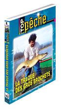 DVD La traque des gros brochets  - Pêche des carnassiers - Top Pêche