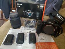 Sony a7 III 24.2 MP Mirrorless Digital Camera - Black with 28-70 lens