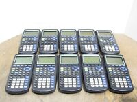 LOT of 10 Texas Instruments TI-83 Plus Graphing Calculators For PARTS NO POWER