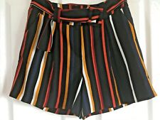 BNWOT Stunning Smart Stripe Shorts size 12