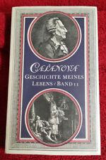 Casanova Giacomo Geschichte meines Lebens Band 11 Neu u. OVP