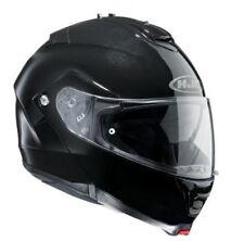 casco plegable HJC IS-MAX 2 gr.s negro metal brillo resistente a los arañazos