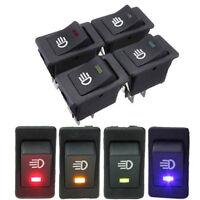 LED On/Off Indicator Rocker Toggle Switch Driving Fog Lamp/Work Light Bar Decor