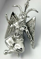 Pagan BAPHOMET Pendant Necklace 316L Stainless w/ Chain