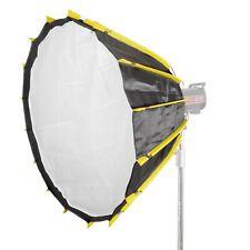 Easy-Open Mechanism Deep Umbrella Softbox Diffusion Easy Set-Up 90cm