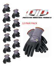Pip 34 845 Maxiflex Dotted Palms Micro Foam Gloves Sizes Sm Xlg 12 Pair Pack