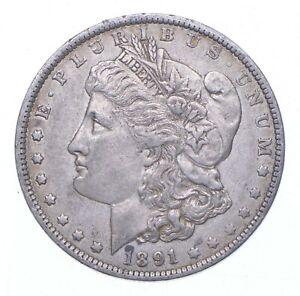 Early - 1891-O Morgan Silver Dollar - 90% US Coin *197