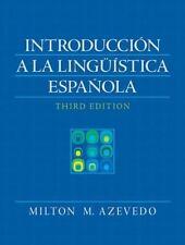 Introduccion A La Linguistica Espanola 3rd Edition Spanish Edition