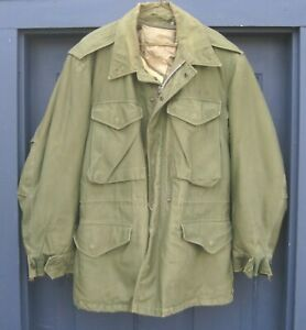 1950s M-1950 US Army Field Jacket W/ Liner