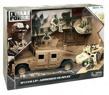 Elite Force Military Special Forces 1:18 Scale Soldier Humvee Vehicle Gun Turret