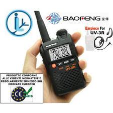 BAOFENG UV-3R MKII RTX VHF-UHF CON DSP CON  MICROFONO/AURICOLARE 220001