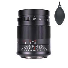 7artisans 50mm F1.05 Full-Frame Manual Fixed Lens For Canon EOSR-Mount R5 R6 RP