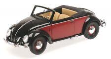 VW Coccinelle (Beetle) Cabriolet Hebmüller (noir/rouge) 1949