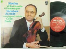 ACCARDO / SIBELIUS: 6 Humoresques: London Symphony &  Davis- Philips 9500 675 NM