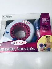 2010 Singer Preowned Knitting Machine For Kids Not Used Condition.