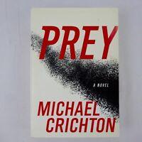Prey by Michael Crichton 1st Edition 2002 Harper Collins  Hardcover Dust Jacket