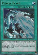 3X YU-GI-OH CARD: COSMIC FLARE - ULTRA RARE - DUSA-EN036 - 1ST EDITION
