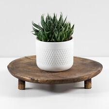 Mango Wood Indoor Flower House Plant Pot Stand Display Holder Home Decoration