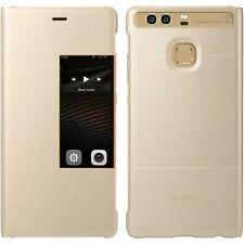 Huawei View Flip Cover per P9 Oro 51991509