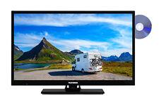 Telefunken XF22E101VD LED Fernseher 22 Zoll Full HD TV Triple Tuner DVD 12 Volt