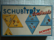 Schubitrix Combinado: family card game, like dominoes, match the images SCHUBI