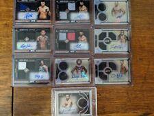 (10)'17/'18 Topps UFC Museum Collection Auto/Relci cards;Cruz, Pettis, Ferguson
