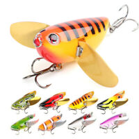 Topwater Fishing Lures Minnow Floating Crankbait Wobblers Artificial Bait Popper