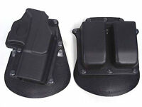 For GLOCK 17 19 22 23 31 32 34 35 Hunting Right Hand Paddle Holsters Magazine