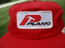 Vintage Plano Fishing Tackle Patch Snap Back Mesh Hat Stylemaster
