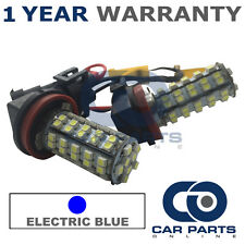 2X CANBUS BLUE H8 60 SMD LED FOG LIGHT BULBS HYUNDAI i30 i40 CHEVROLET CAPTIVA