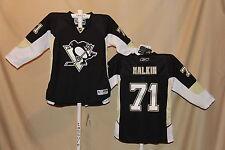 Evgeni Malkin PITTSBURGH PENGUINS Reebok NHL sewn JERSEY Youth Large/XL NWT $100