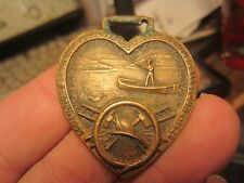 1928 MINNESOTA STATE FIRE DEPT ASSOCIATION 56TH ANNUAL WATCH FOB FIREFIGHTERS