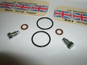 "z  TRIUMPH IRON Barrel 97-0200 Screws+ 70-2441CW +Nitrile ""0""rings  €FA JLY21"