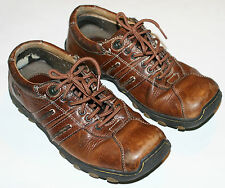 Pre-worn Doc Martens 8A99 Brown Leather Lace-Up Athleisure UK sz 4, US M5,  W6