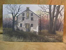 Old Mill At Sunset Canvas Wall Decor Primitive LOOK