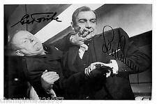 Sean Connery-Gert Fröbe++Autogramm++James Bond 60er J++