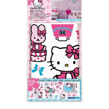 Hello Kitty Self Adhesive Removable Glitter Wall Stickers
